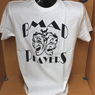 BMAD Players T-Shirt – Women's White
